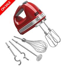 kitchenaid artisan empire red 9 speed hand mixer peter u0027s of