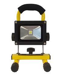how emergency light works led safety 10 watt rechargeable work light 4 hour run time ultra