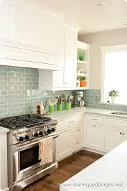 green subway tile kitchen backsplash best 15 kitchen backsplash tile ideas blue glass tile subway