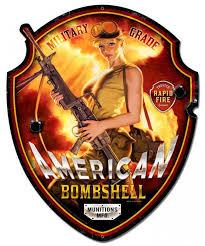 pin up girl home decor american bombshell patriotic pin up girl art on plasma shaped