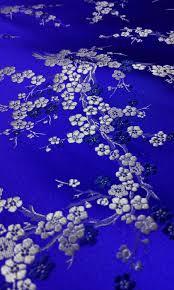 Sapphire Blue Aliexpress Com Buy Chinese Traditional Silk Brocade Fabric