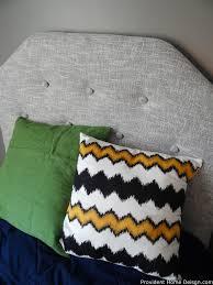 Diy Tufted Headboard Diy Faux Tufted Upholstered Headboard