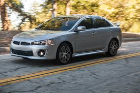 2016 mitsubishi lancer performance review the car connection