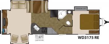 Wilderness Rv Floor Plans 2013 Heartland Wilderness 3175re Travel Trailer Stewartville Mn