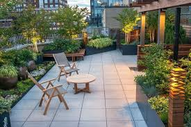 Roof Garden Design Ideas Rooftop Container Garden Entertaining Rooftop Garden Rooftop