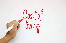100 average cost of groceries per month the cost of living