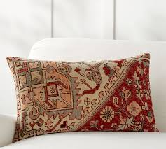 Pottery Barn Kilim Pillow Cover Yasmine Lumbar Pillow Cover Pottery Barn