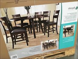Dining Room Sets Costco - kitchen bayside furnishings 7pc counter height round drop leaf