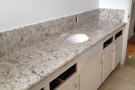 Granite For Bathroom Vanity White Galaxy Granite Bathroom Vanity Ez Tile Marble Countertops