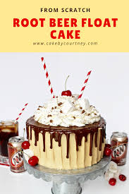 beer can cake root beer float cake cake by courtney