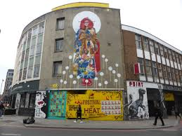 new core246 kaes mural in shoreditch london calling blog london ayakamay s residency at the red gallery may now be over but what shoreditch is left with is a lovely piece that aptly reflects upon the