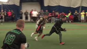 Flag Football Chicago Go Green Dumpsters Highlights Vs The Surge Cdffl Indoor Flag