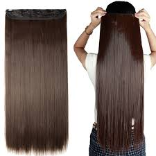one clip in hair extensions 20 inches wavy 3 4 clip in hair extensions