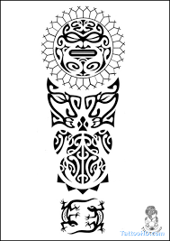 a quick reference to the maori shapes and symbols used in some of