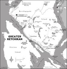 Ketchikan Alaska Map by Map Of Ketchikan Alaska Area Pictures To Pin On Pinterest Pinsdaddy