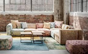 canapé d angle vintage corner armchair large velvet vintage comfortable contemporary