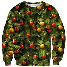 x mass tree sweater shelfies