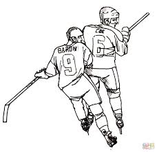 football printable coloring pages hockey players coloring page free printable coloring pages