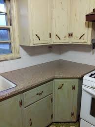 how to get polyurethane cabinets chalk painted cabinets and trim scuffed the paint and then