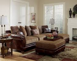 Suede Sectional Sofas Incredible Living Room Furniture Ct Using Leather And Suede