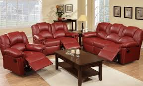 Faux Leather Recliner Faux Leather Reclining Sectional U0026 Faux Leather Sectional