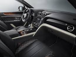 bentley bentayga 2016 interior bentley bentayga by mulliner is the ultimate luxury suv