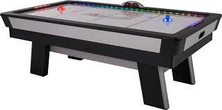 easton atomic rod hockey table atomic top shelf 7 5 air hockey table s sporting goods