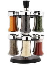 Morton And Bassett Spice Rack Glass Spice Jars Ebay