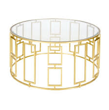 round gold glass coffee table glass and gold coffee table home design ideas