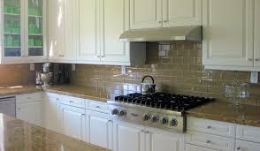 Glass Backsplash Kitchen by Glass Backsplash With White Cabinets Exitallergy Com
