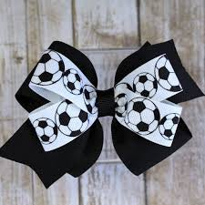 bows for best 25 soccer hair bows ideas on ribbon hair ties