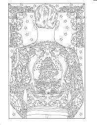 printable coloring page body art coloring pages pinterest