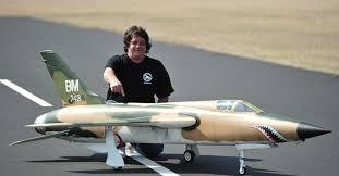 Bob F by Bob S F 105 Thunderchief Model Airplane