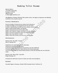 Resume Sample Format For Fresh Graduate by Cover Letter Banking Sample Resume For Bank Jobs Resume Sample For