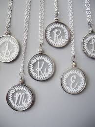 monogram pendants initial monogram necklaces by sarahtrumbauer style