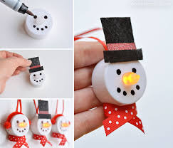 tea light snowman ornaments snowman ornament and dollar stores
