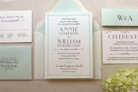 wedding invitation suites lush deco suite letterpress wedding invitation suite