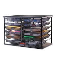 5 shelf desk organizer desktop supplies organizers