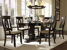 Black Oval Dining Table Dining Room Interesting Dining Room Design With Canadel Furniture