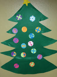 christmas tree ornaments to make with preschoolers simple