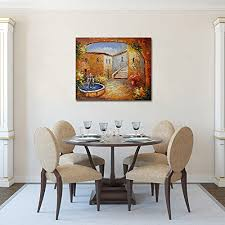 100 Painting Dining Room Furniture by Canvas Painting Raybre Art 100 Hand Painted Abstract Landscape
