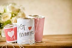 Tin Can Table Decorations Wedding Car Tin Cans Stock Images Download 10 Photos