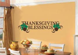 wall decals stickers home decor home furniture diy thanksgiving blessings decor vinyl decal wall stickers words lettering quote art
