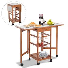 inspirational folding island kitchen cart home design ideas