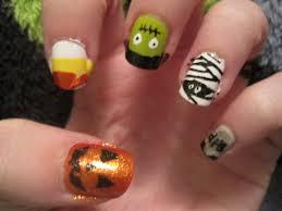 Crazy Halloween Nail Art Nail Designs U0026 Nail Art Of Late Crazy