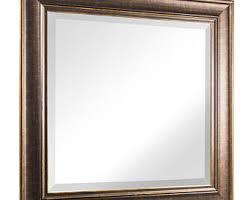 bronze mirror etsy