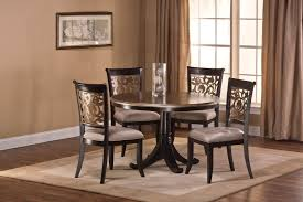 tiburon 5 pc dining table set hillsdale bennington 5 pc dining set black distressed gray putty