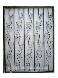 the simple new designs ornamental iron window grills buy