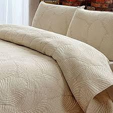 Solid Beige Comforter Amazon Com Brandream White Beige Vintage Floral Comforter Set