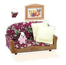 Sylvanian Families Cozy Living Room Set - Sylvanian families living room set